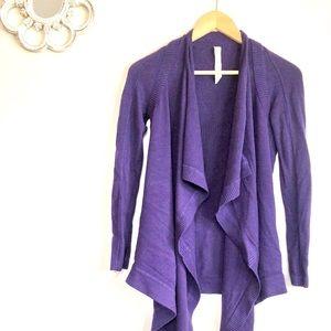 LULULEMON Purple Cardigan / Great Condition